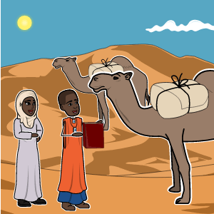 My Librarian is a Camel Lesson Plans