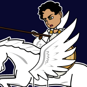Bellerophon from Greek Mythology