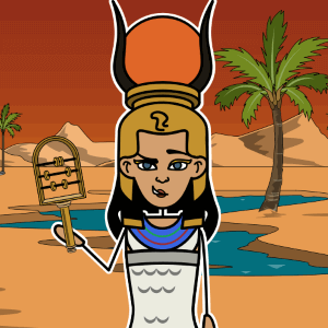 Hathor from Egyptian Mythology
