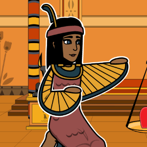 Maat from Egyptian Mythology