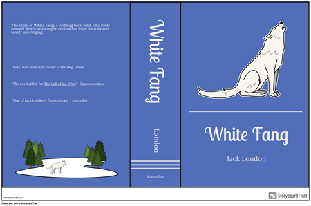 Book Jacket Example