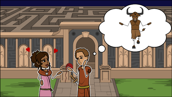 Theseus and the Minotaur Lesson Plans
