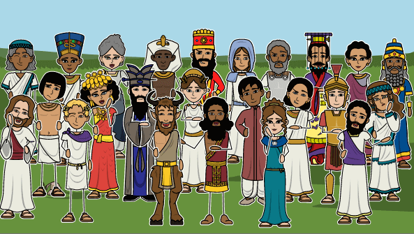 Ancient Civilization Characters