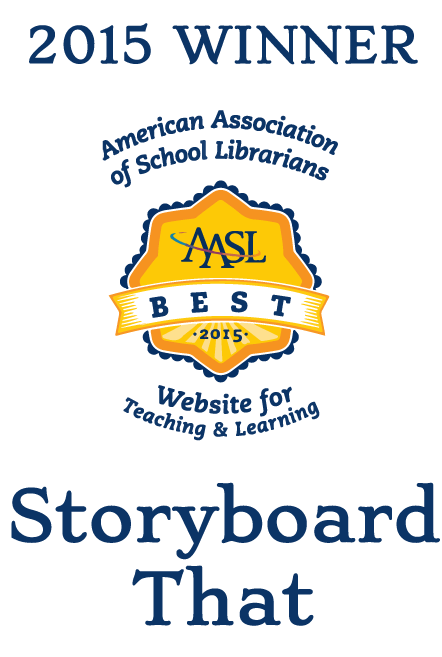 American Association of School Librarians Award for Storyboard That