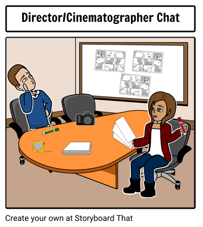 Talk to your Cinematographer when Planning!