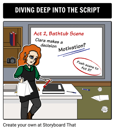 Dive Deep into your Script with a Storyboard