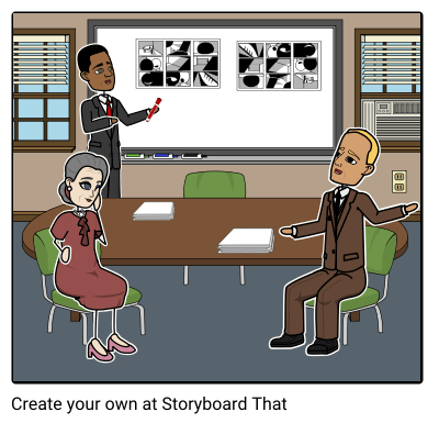 Pitching your Film with Storyboards