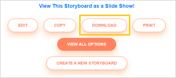 Download storyboard as an Image