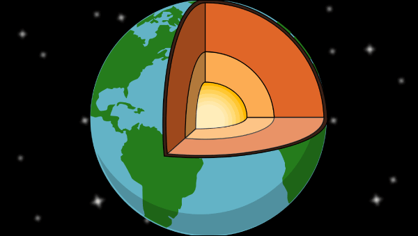 Earth Structure Lesson Planer