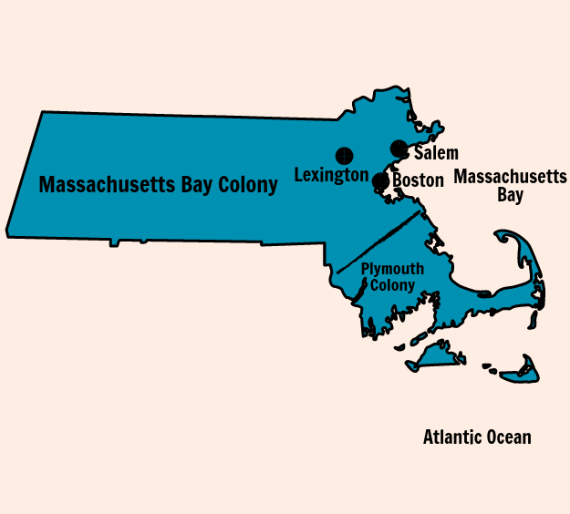 Massachusetts Bay Colony - Massachusetts Bay Colony: Los Hechos