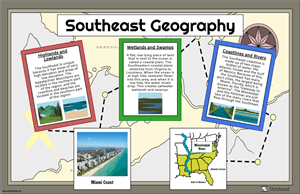 US Regions: Southeast Geography
