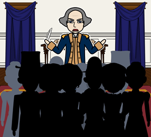 Speech in the Virginia Convention By Patrick Henry - SPAM Model