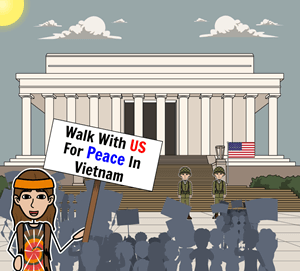 History of Vietnam War Protests