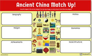 Ancient China Match Up Discovery Quest
