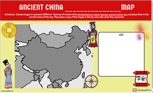 Ancient China: Maak een Kaart!