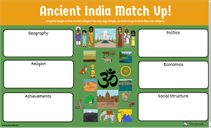 Ancient India Match Up Discovery Quest