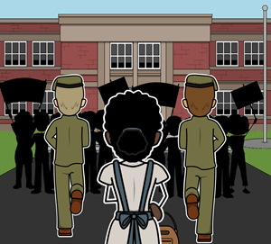 The Story of Ruby Bridges by Robert Coles - <i>The Story of Ruby Bridges</i> Vocabulary