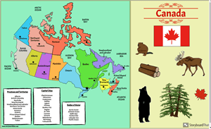 Canadian Provinces, Territories, and Capitals