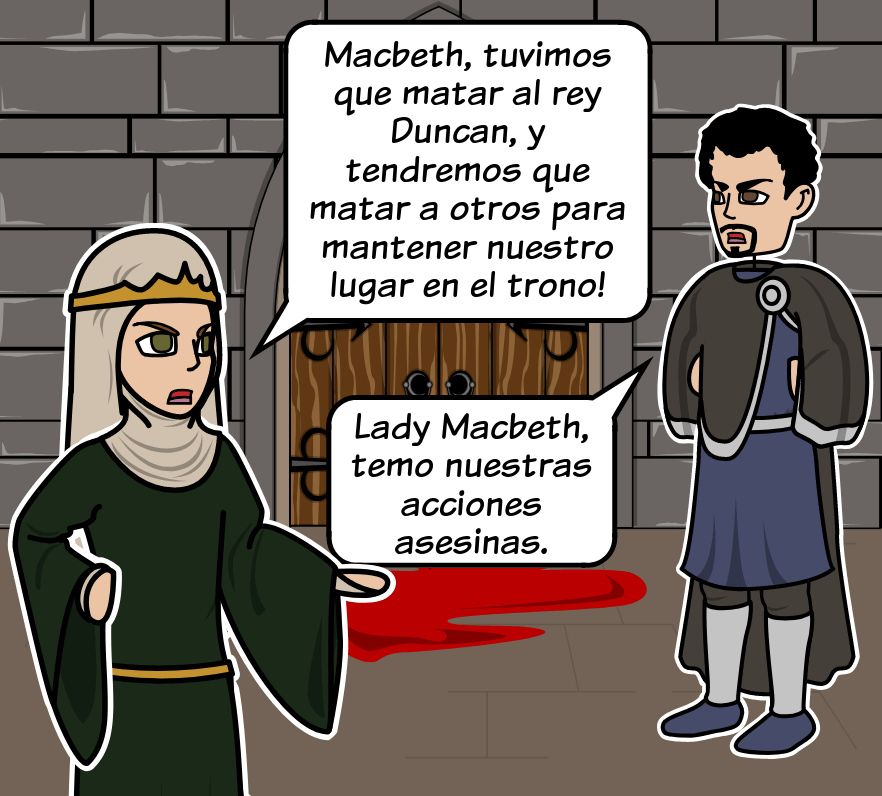 Macbeth de William Shakespeare - Estructura de Cinco Actos