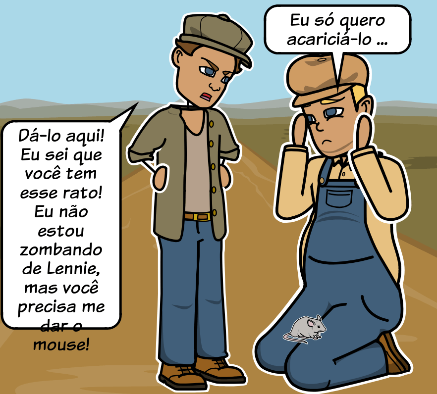 Of Mice and Men de John Steinbeck - Vocabulário