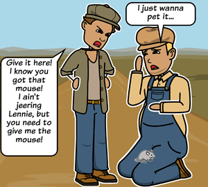 Of Mice and Men by John Steinbeck - <i>Of Mice and Men</i> Vocabulary