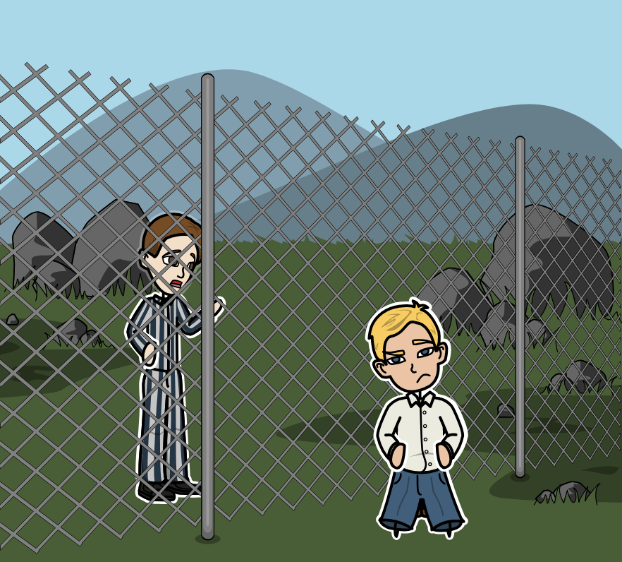 The Boy in the Striped Pyjamas لـ John Boyne - <i>The Boy in the Striped Pyjamas</i> Plan