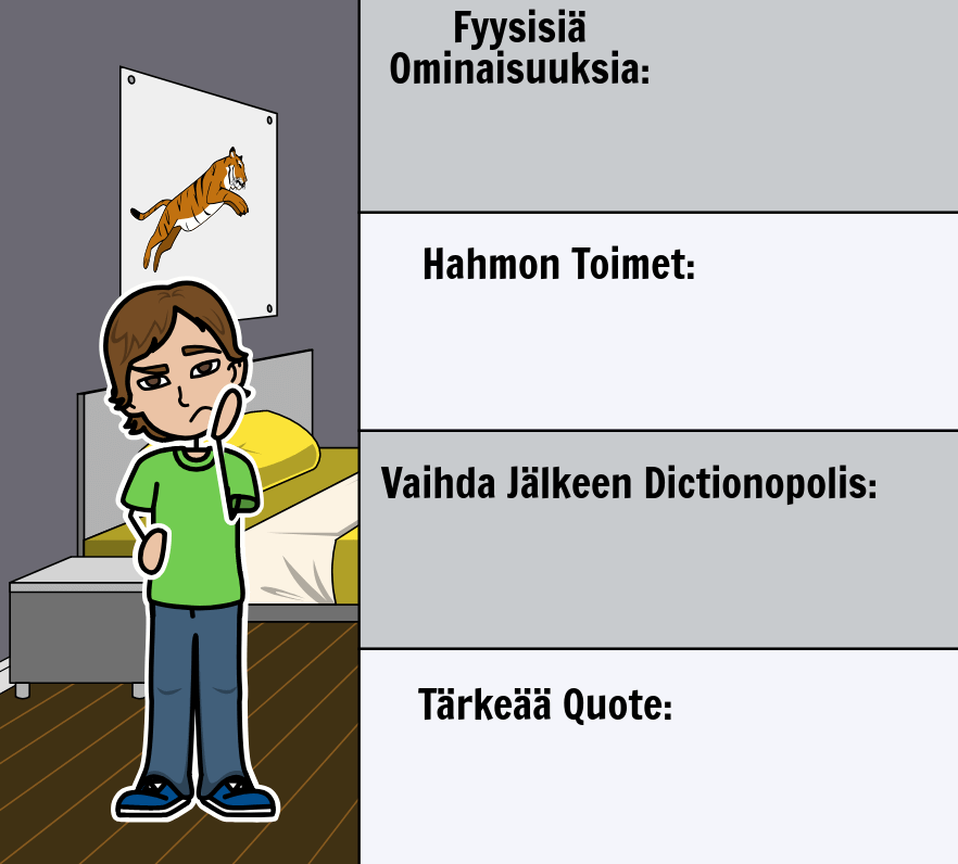 Norton Justerin <i>Phantom</i> Tollbooth - <i>Phantom Tollbooth -merkkikartta</i>