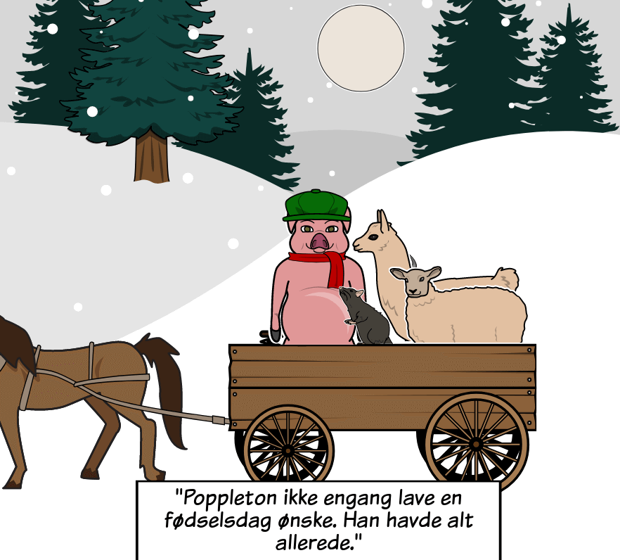 Poppleton i vinter af Cynthia Rylant - <i>Poppleton i</i> vintertemaer