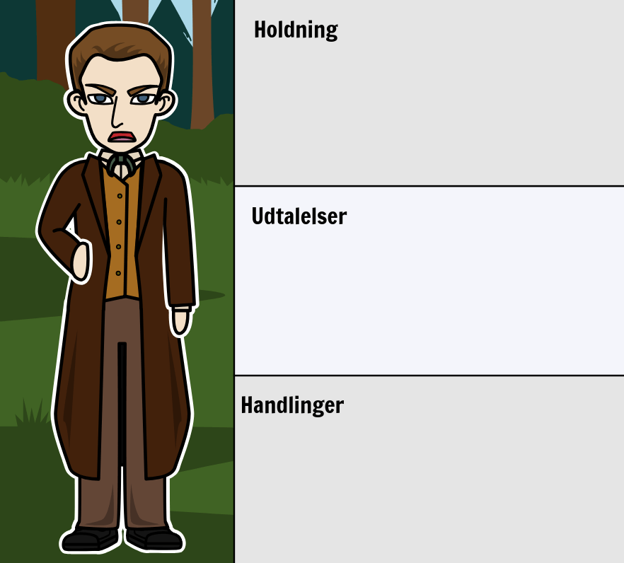 Djævelen og Tom Walker af Washington Irving - Character Evolution of Tom Walker