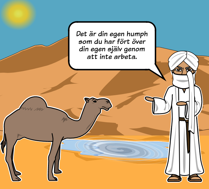 "How the Camel Got His Hump av Rudyard Kipling - ""How the Camel Got His Hump"" Sammanfattning"