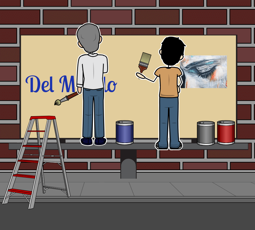 The Sign Painter por Allen Say - Resumen de <I>The Sign Painter</i>