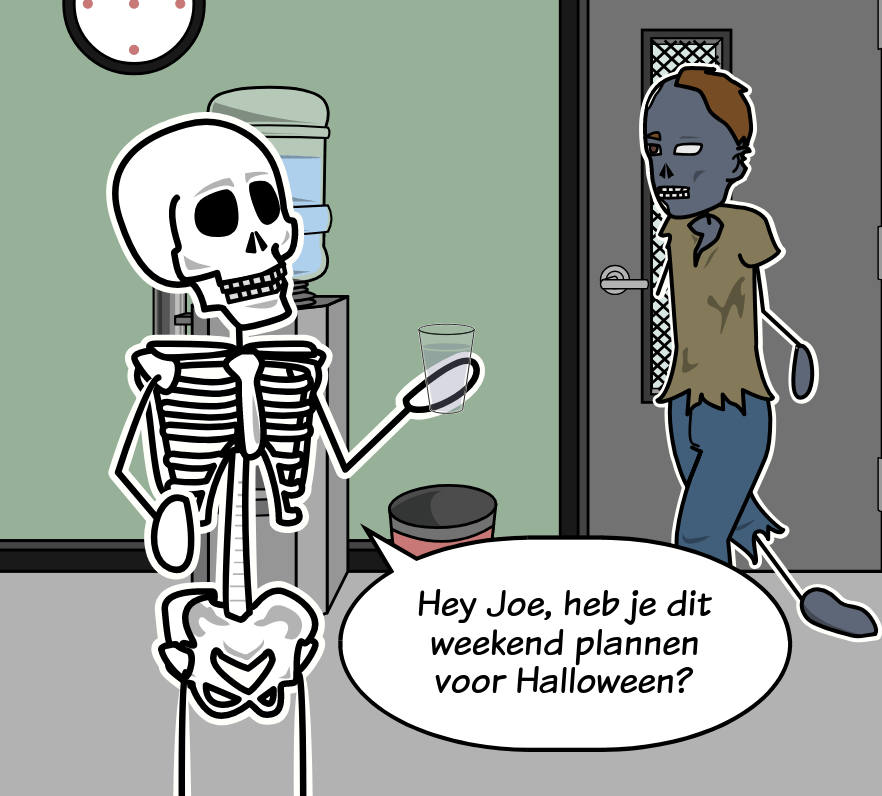 Halloween Classroom Activities - Vouwkaarten