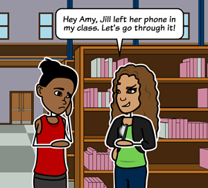 Bullying - What Should Amy Say?
