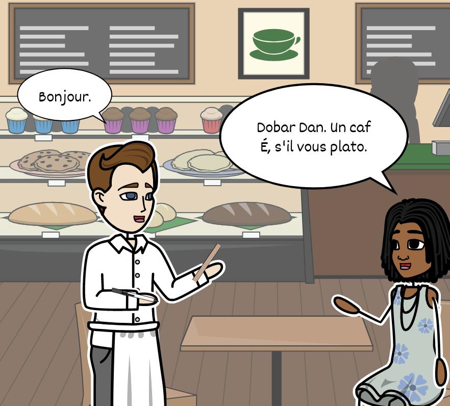 Upoznavanje caf e