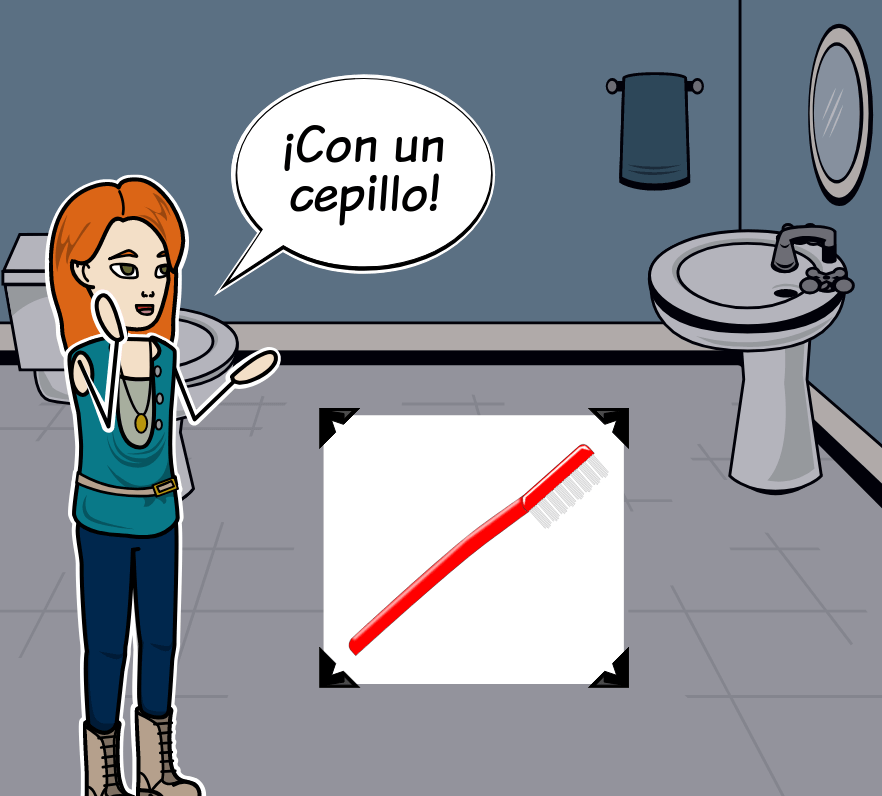 Spanish Reflexive Verbs - Spanish Reflexive Words Vocabulary Activity