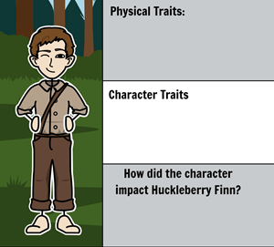 The Adventures of Huckleberry Finn by Mark Twain - <i>Huck Finn</i> Characters