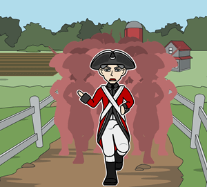 American Revolution - The Battle of Lexington and Concord Comparison