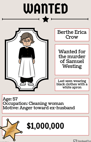 The Westing Game by Ellen Raskin - Wanted Poster