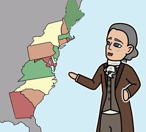 The Original 13 Colonies Lesson Plan