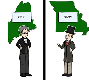 The Missouri Compromise of 1820 - Missouri Compromise Outcomes