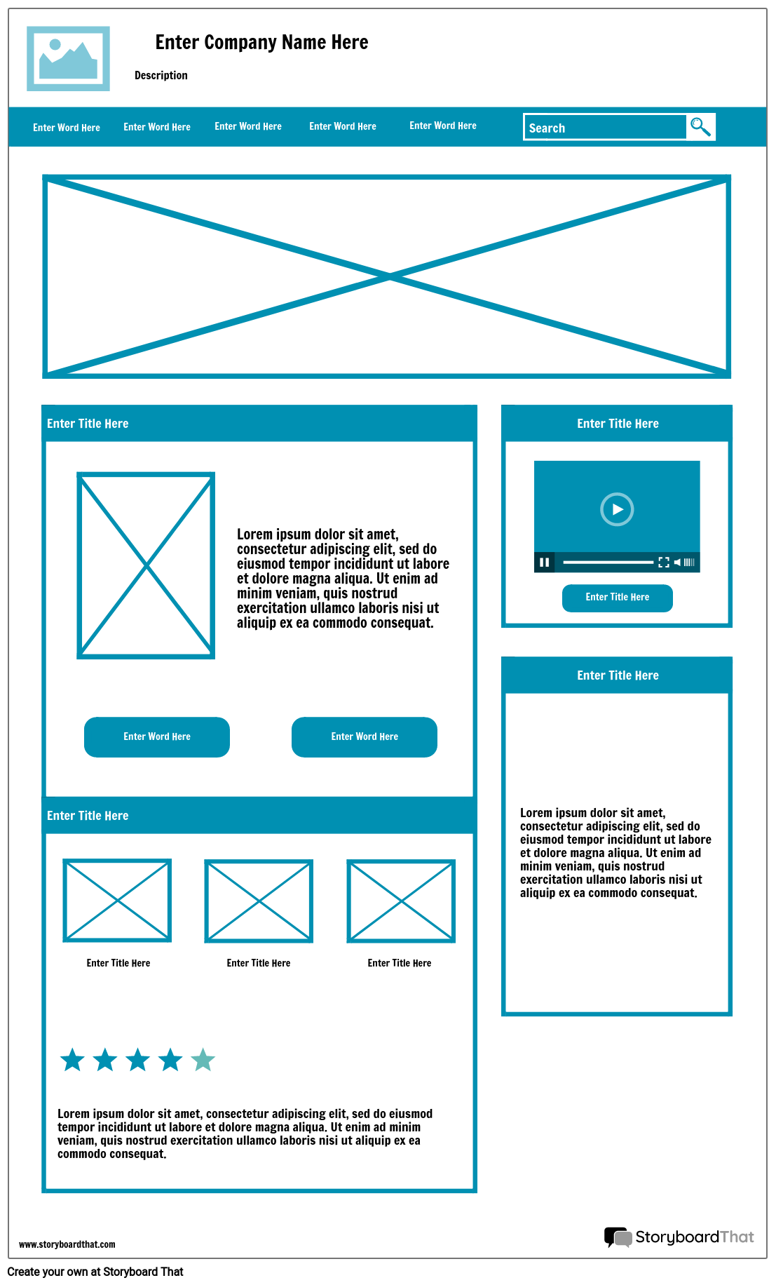 Webpage Wireframe Toolbox   Enterprise Architect User Guide