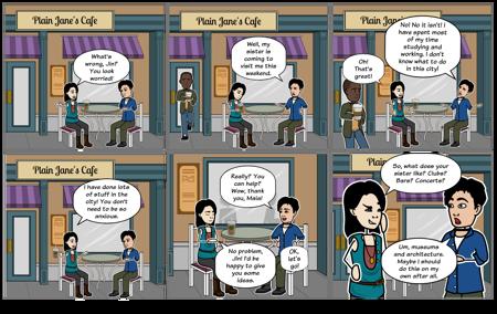 Dialogue Between Two Friends - ESL Practice