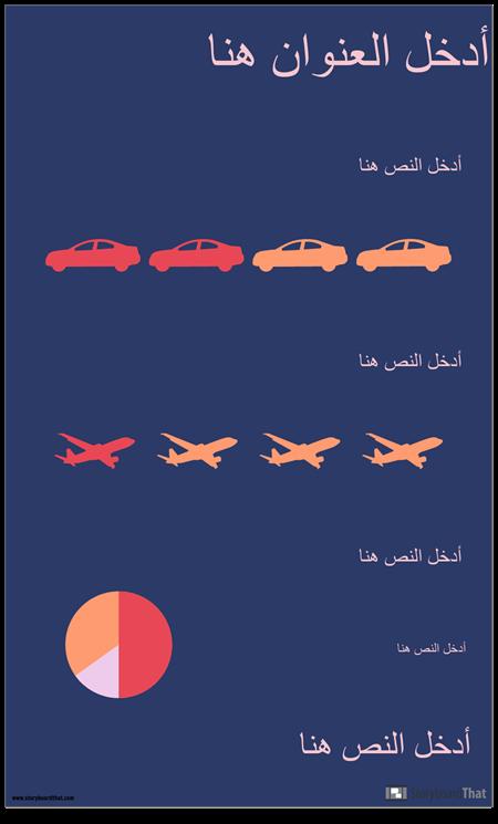 النقل PSA Infographic