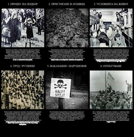 Историята на Холокоста - Животът в Аушвиц