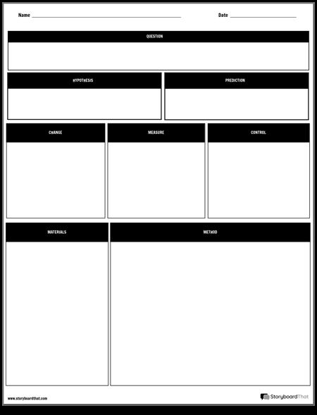 Основен Лист за Експериментален Дизайн