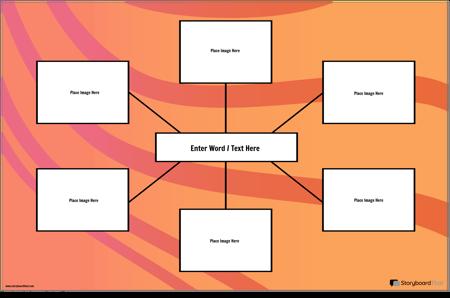 Визуален Речник на Картата на Паяка