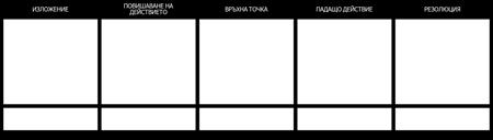 Шаблон за Диаграма на Графиката - 5 Клетки