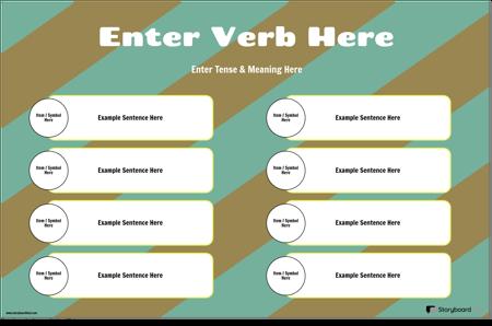 Глаголско Спрежение със Сентенции
