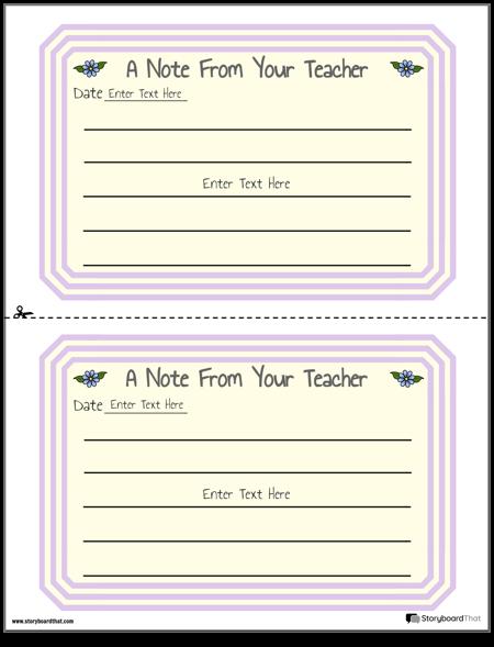Бележки за Родителския Учител 1