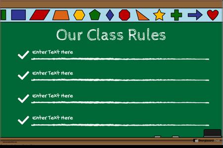 Правила за Класната Стая 22